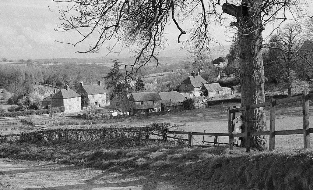View of Smithbrook from Redlands Farm 1948