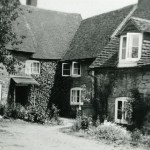 'Below ground' houses to rear of Old Nursery c1950