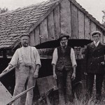 Spooner brothers, Nicholls & Boxall at Brickyard, Lodsworth Common 1905on 1905