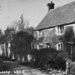 Church Cottage occupied by Rogers family 1920