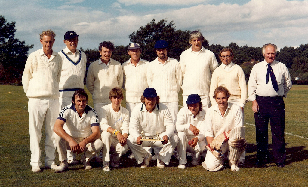 Cricket Team in 1970s