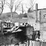 Lodsworth Bridge Mill after fire 1905
