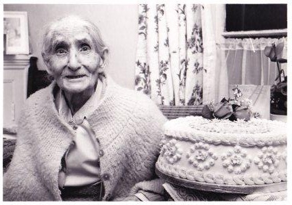 Mary Simmonds c.1987 - Mother of 'Little Betty'