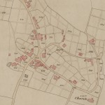 Lodsworth Tithe Map 1842 - Church Lane & Vicarage Lane