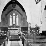St Peter's Church interior c.1900