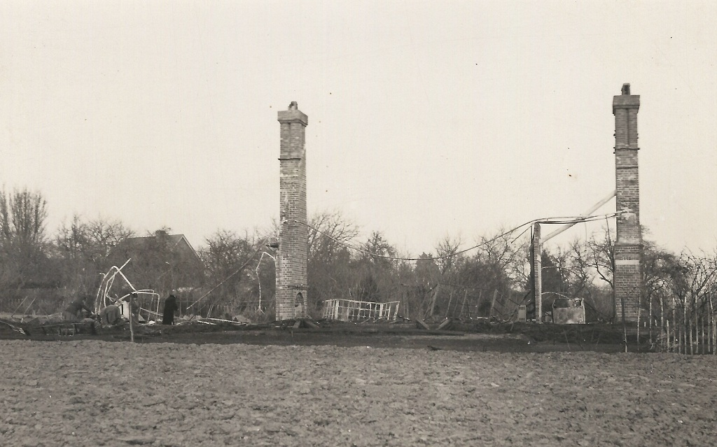 Domum destroyed by fire for the second time in 1933