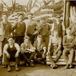 Morley yard & office staff in 1930s