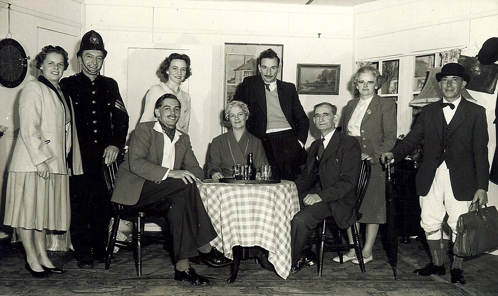 Lodsworth Players c.1958