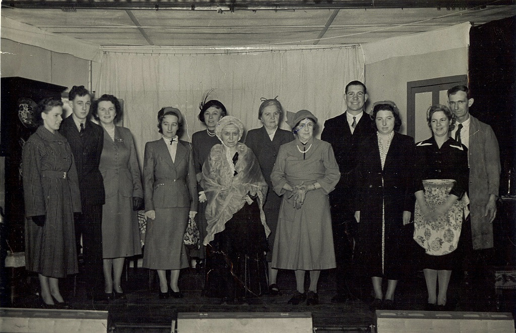 'Golden Harvest' Lodsworth Players c.1955