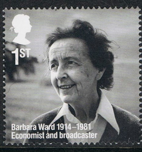 Barbara Ward postage stamp