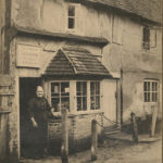 Jane Hammond outside her shop at Erickers